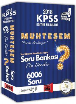 Yargı Yayınları 2018 KPSS Eğitim Bilimleri Muhteşem Tüm Dersler Soru Bankası