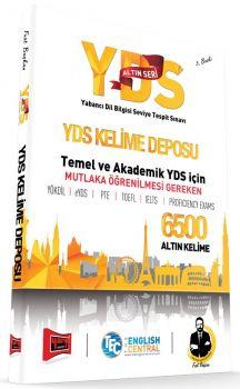 Yargı Yayınları YDS Altın Seri Kelime Deposu 6500 Altın Kelime 3. Baskı