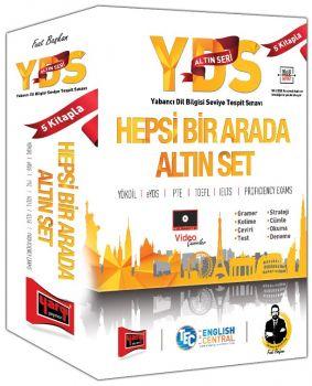 Yargı Yayınları YDS Altın Seri Hepsi Bir Arada Altın Set