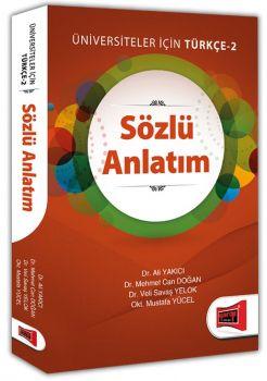 Yargı Yayınları Üniversiteler İçin Sözlü Anlatım Türkçe 2