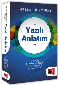 Yargı Yayınları Yazılı Anlatım Üniversiteler Yazılı İçin Türkçe 1