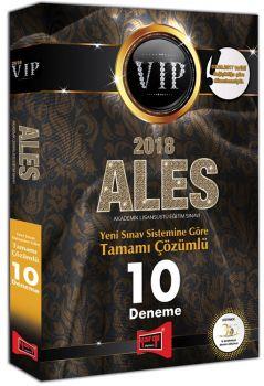 Yargı Yayınları 2018 ALES VIP Yeni Sınav Sistemine Göre Tamamı Çözümlü 10 Deneme