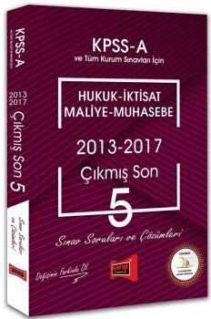 Yargı Yayınları KPSS A Grubu Hukuk İktisat Maliye Muhasebe Çıkmış Son 5 Sınav Soruları ve Çözümleri