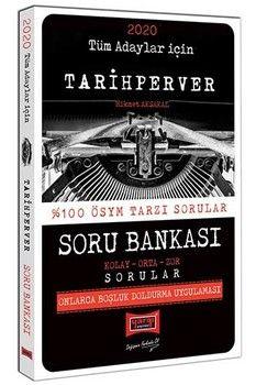 Yargı Yayınları 2020 Tüm Adaylar İçin TARİHPERVER Soru Bankası