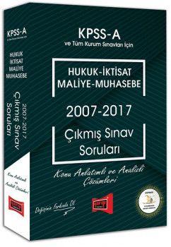 Yargı Yayınları KPSS A Grubu Hukuk İktisat Maliye Muhasebe Çıkmış Sınav Soruları 2007 2017