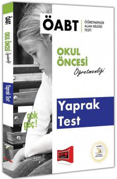 Yargı Yayınları ÖABT 7 ÇOK GEÇ Okul Öncesi Öğretmenliği Yaprak Test