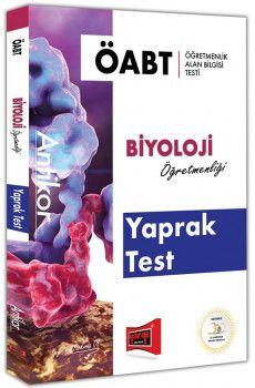 Yargı Yayınları ÖABT ANTİKOR Biyoloji Öğretmenliği Yaprak Test
