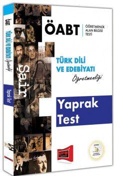 Yargı Yayınları ÖABT ŞAİR Türk Dili ve Edebiyatı Öğretmenliği Yaprak Test