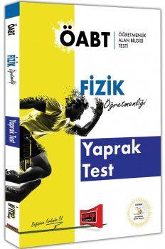 Yargı Yayınları ÖABT İVME Fizik Öğretmenliği Yaprak Test