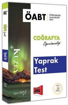 Yargı Yayınları ÖABT KUZEY Coğrafya Öğretmenliği Yaprak Test