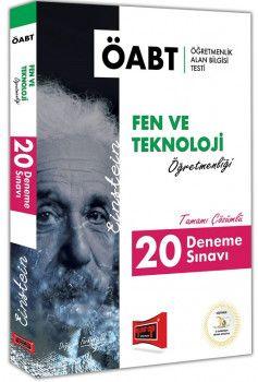 Yargı Yayınları ÖABT EINSTEIN Fen ve Teknoloji Öğretmenliği Tamamı Çözümlü 20 Deneme Sınavı