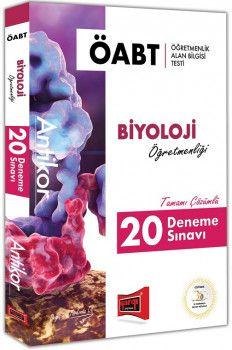 Yargı Yayınları ÖABT ANTİKOR Biyoloji Öğretmenliği Tamamı Çözümlü 20 Deneme Sınavı