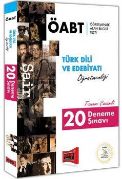 Yargı Yayınları ÖABT ŞAİR Türk Dili ve Edebiyatı Öğretmenliği Tamamı Çözümlü 20 Deneme Sınavı