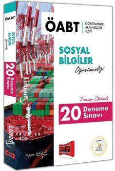 Yargı Yayınları ÖABT LİMAN Sosyal Bilgiler Öğretmenliği Tamamı Çözümlü 20 Deneme Sınavı