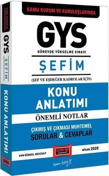 Yargı Yayınları GYS Kamu Kurum ve Kuruluşlarında ŞEFİM Konu Anlatımı