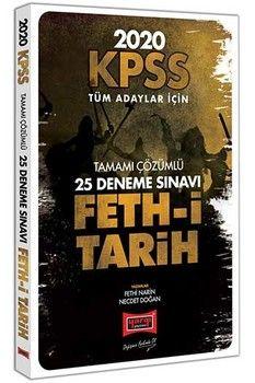 Yargı Yayınları 2020 KPSS Feth-i Tarih Tamamı Çözümlü 25 Deneme Sınavı