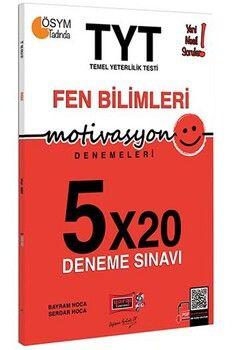 Yargı Yayınları TYT Fen Bilimleri Motivasyon 5 x 20 Deneme Sınavı
