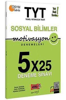 Yargı Yayınları TYT Sosyal Bilimler Motivasyon 5 x 25 Deneme Sınavı