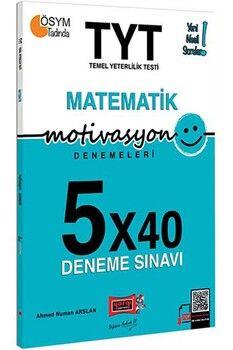 Yargı Yayınları TYT Matematik Motivasyon 5 x 40 Deneme Sınavı