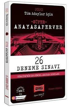 Yargı Yayınları 2020 Tüm Adaylar İçin AnayasaPerver Süper 26 Deneme Sınavı