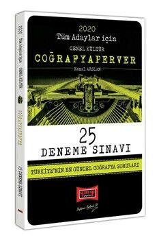 Yargı Yayınları 2020 Tüm Adaylar İçin CoğrafyaPerver 25 Deneme Sınavı