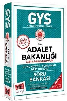 Yargı Yayınları GYS T.C. Adalet Bakanlığı Zabıt Katibi Kadrosu İçin Konu Özetli Soru Bankası