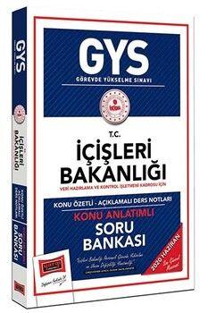 Yargı Yayınları GYS T.C. İçişleri Bakanlığı Veri Hazırlama ve Kontrol İşletmeni Kadrosu İçin Konu Anlatımlı Soru Bankası