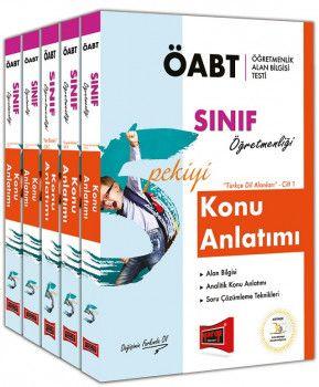 Yargı Yayınları ÖABT 5 PEKİYİ Sınıf Öğretmenliği Konu Anlatımı Modüler Set