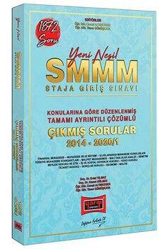 Yargı Yayınları 2020 SMMM Staja Giriş Sınavı Konularına Göre Düzenlenmiş Tamamı Ayrıntılı Çözümlü Çıkmış Sorular