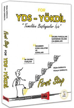 Yargı Yayınları YDS YÖKDİL FIRST STEP For