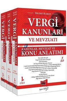 Yargı Yayınları Vergi Kanunları ve Mevzuatı Konu Anlatımı ve Soru Bankası 3 Kitap 7. Baskı