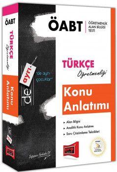 Yargı Yayınları ÖABT DE AYRI Türkçe Öğretmenliği Konu Anlatımı