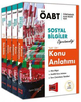 Yargı Yayınları ÖABT LİMAN Sosyal Bilgiler Öğretmenliği Konu Anlatımı Modüler Set