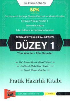 Yargı Yayınları SPK Sermaye Piyasası Faaliyetleri Düzey 1 Pratik Hazırlık Kitabı