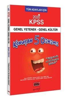 Yargı Yayınları 2020 KPSS Genel Yetenek Genel Kültür Konuşan Çözümlü 5 Deneme