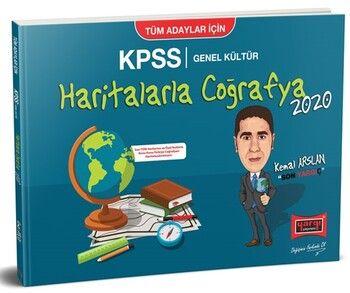 Yargı Yayınları 2020 KPSS Haritalarla Coğrafya