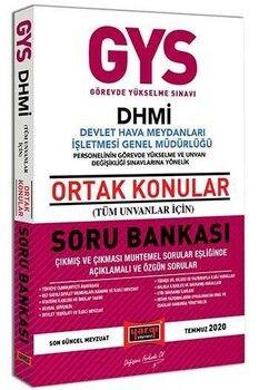 Yargı Yayınları GYS DHMİ Devlet Hava Meydanları İşletmesi Genel Müdürlüğü Ortak Konular Soru Bankası