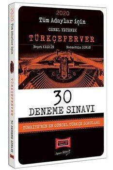 Yargı Yayınları 2020 Tüm Adaylar İçin TürkçePerver 30 Deneme Sınavı
