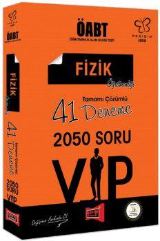 Yargı Yayınları ÖABT Değişim Serisi VIP Fizik Öğretmenliği Tamamı Çözümlü 41 Deneme