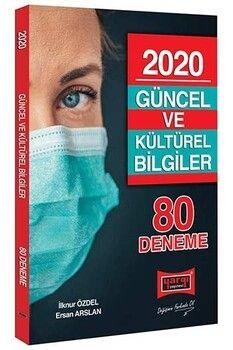 Yargı Yayınları 2020 Güncel ve Kültürel Bilgiler 80 Deneme