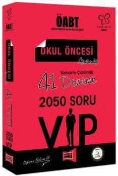 Yargı Yayınları ÖABT Değişim Serisi VIP Okul Öncesi Öğretmenliği Tamamı Çözümlü 41 Deneme
