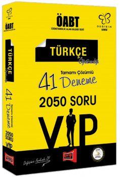 Yargı Yayınları ÖABT Değişim Serisi VIP Türkçe Öğretmenliği Tamamı Çözümlü 41 Deneme
