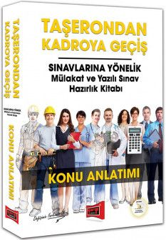 Yargı Yayınları Taşerondan Kadroya Geçiş Sınavlarına Yönelik Mülakat ve Yazılı Sınav Hazırlık Kitabı Konu Anlatımı