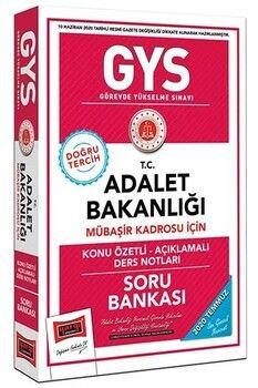 Yargı Yayınları GYS T.C. Adalet Bakanlığı Mübaşir Kadrosu İçin Konu Özetli Açıklamalı Soru Bankası