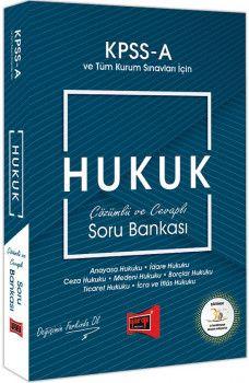 Yargı Yayınları KPSS A Grubu Hukuk Çözümlü ve Cevaplı Soru Bankası