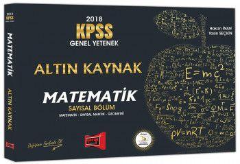 Yargı Yayınları 2018 KPSS Genel Yetenek Altın Kaynak Matematik Sayısal Bölüm Konu Analizli Anlatım