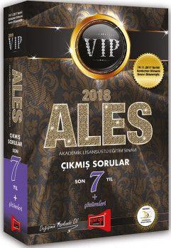 Yargı Yayınları 2018 ALES VIP Sonbahar Dahil Son 7 Yıl Çıkmış Sorular Çözümleri