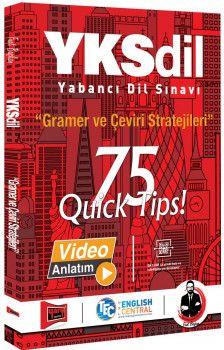 Yargı Yayınları YKSDİL Gramer ve Çeviri Stratejileri 75 QUİCK TIPS