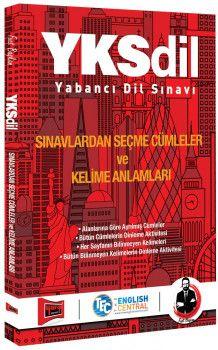 Yargı Yayınları YKSDİL Sınavlardan Seçme Cümleler ve Kelime Anlamları