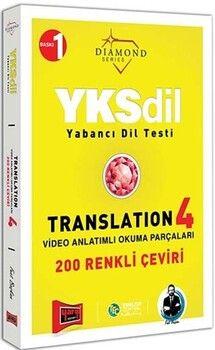 Yargı Yayınları YKSDİL Yabancı Dil Testi Translation 4 Video Anlatımlı Okuma Parçaları